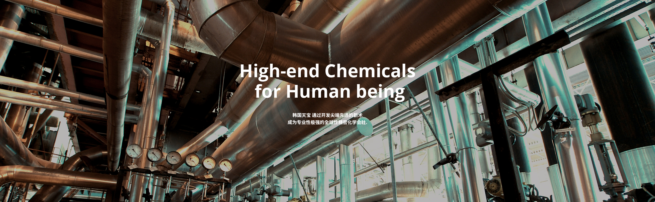 High-end Chemicals for Human being